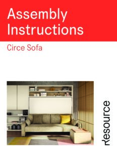 Circe Sofa Assembly Instructions (6 MB)