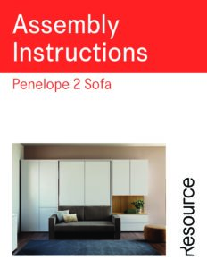 Penelope 2 Sofa Assembly Instructions (7 MB)