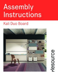 Kali Duo Board Assembly Instructions