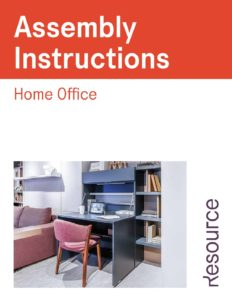 Home Office Assembly Instructions