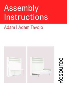 Adam/Adam Tavolo Assembly Instructions