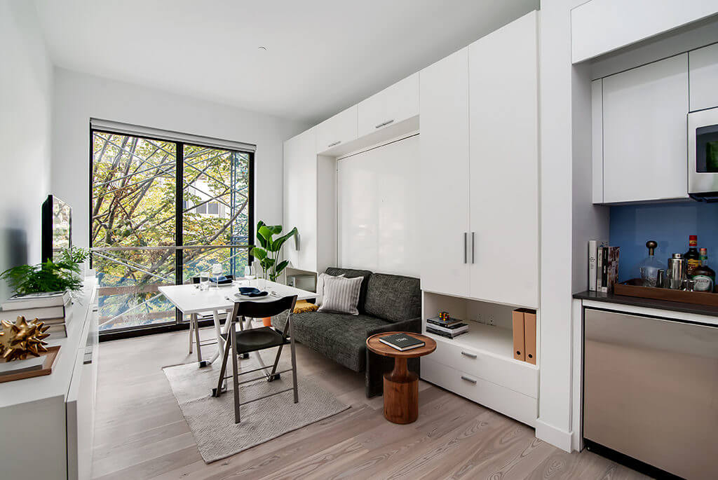 Carmel Place Micro Apartments in New York City | Resource Furniture