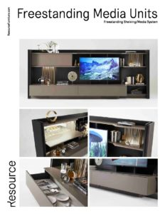 Freestanding Media Units Tearsheet