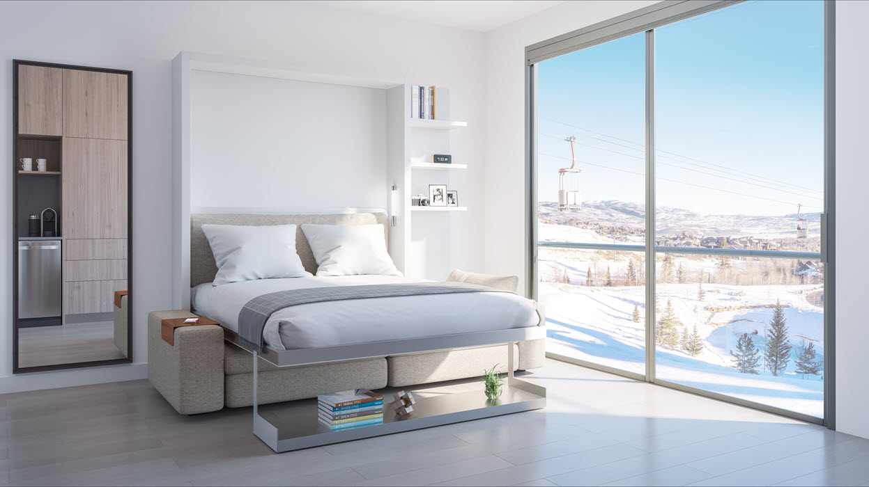 YOTELPAD: Park City — Hit the Slopes, Then Comfortably Unwind in Your Micro-Condo
