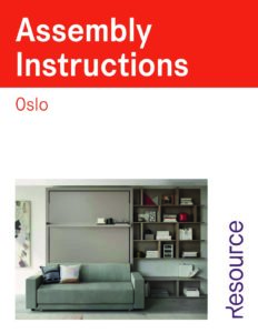 Oslo Sofa Assembly Instructions