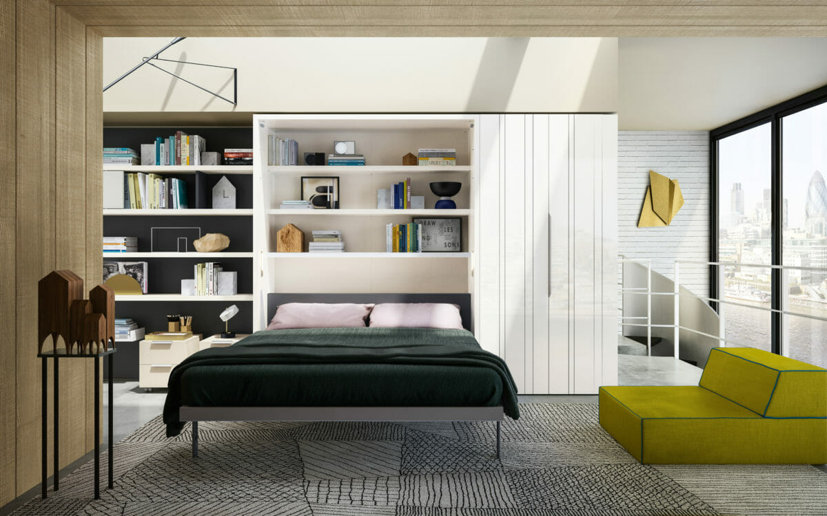 Penelope 2  Wall Bed   Resource Furniture