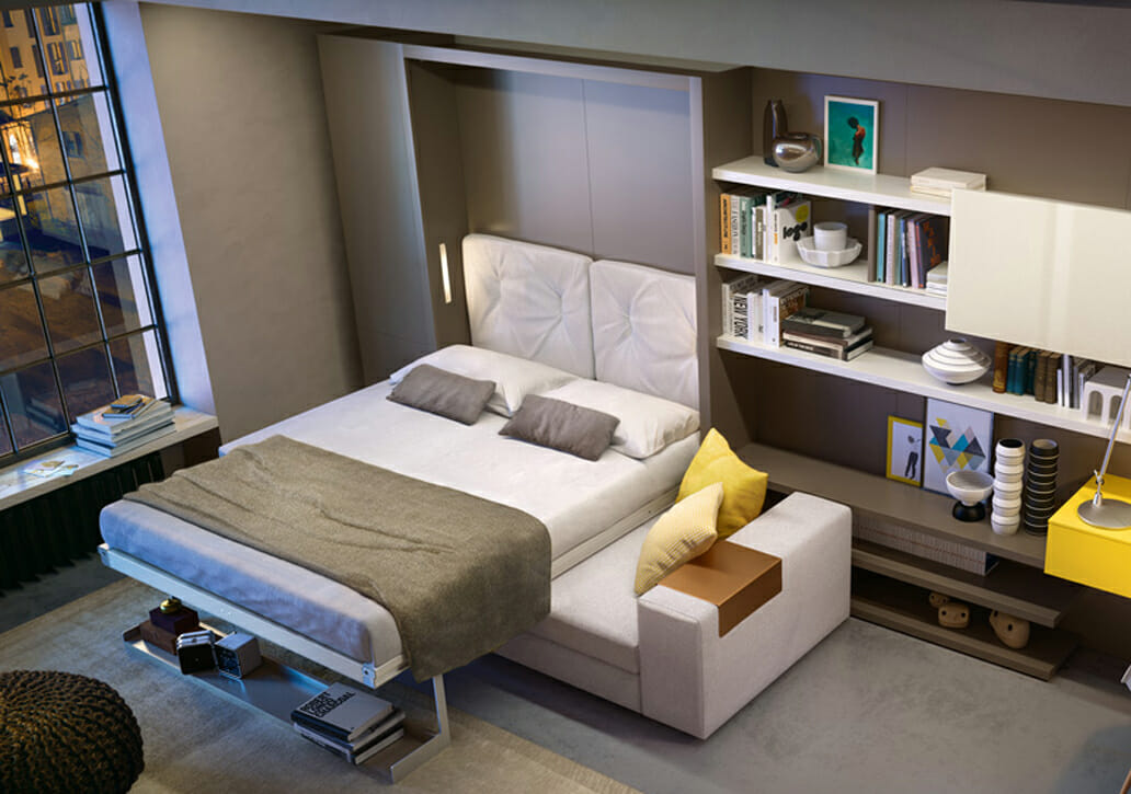 A Comparison of Sofa Beds vs. Wall Beds | Resource Furniture