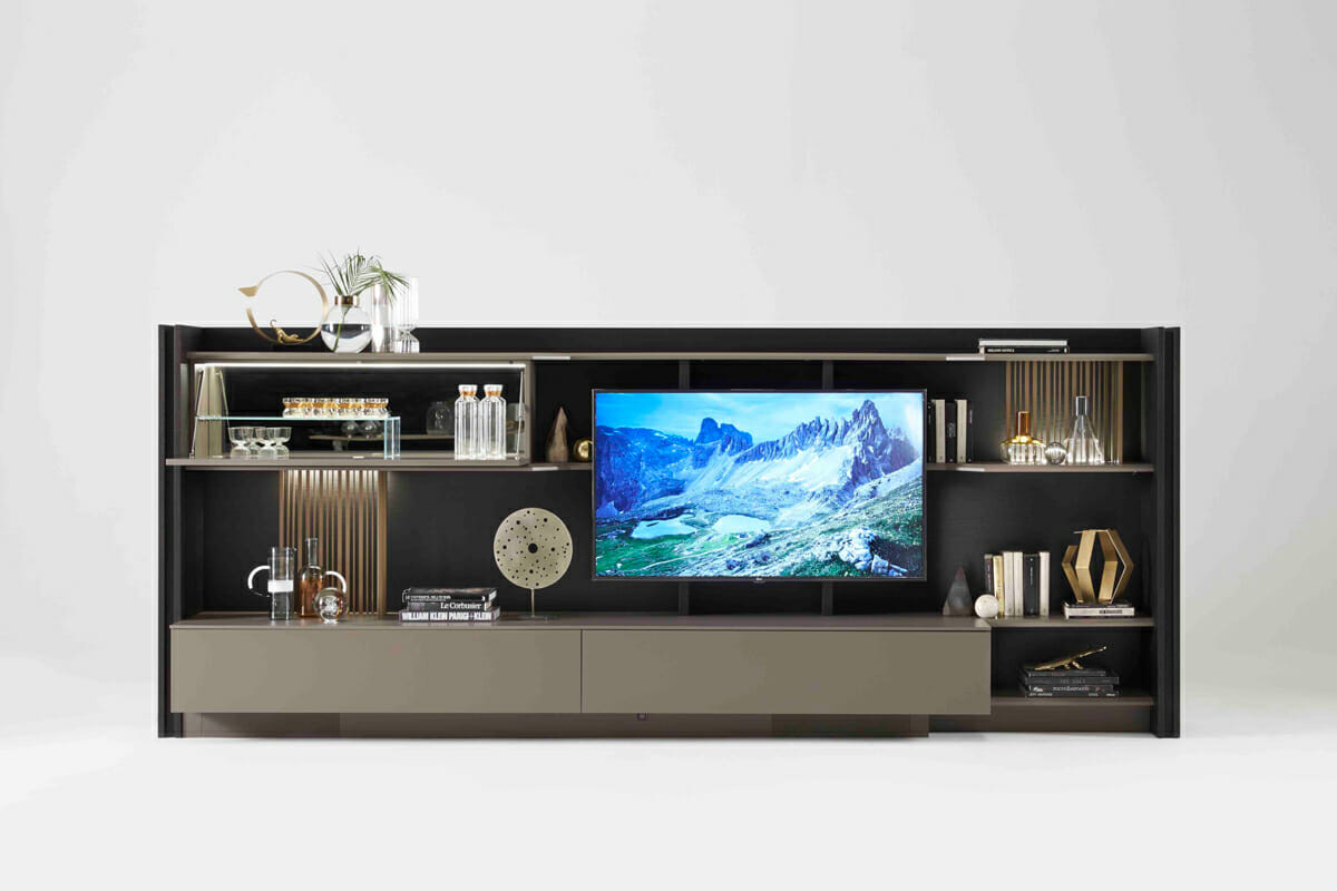 Triplo Freestanding Media Center | Resource Furniture