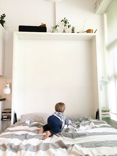 The Penelope is a great solution for mom and dad - and Theo! | Resource Furniture