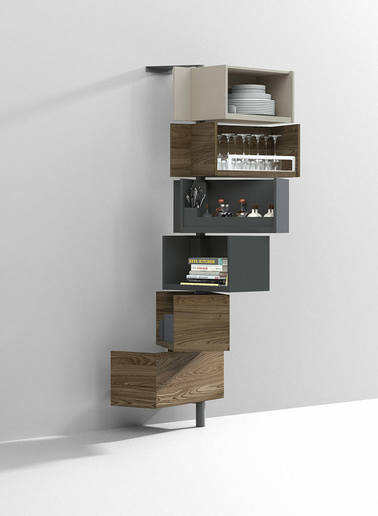 Three Sneaky Storage Solutions for Small Spaces | Giralot | Resource Furniture