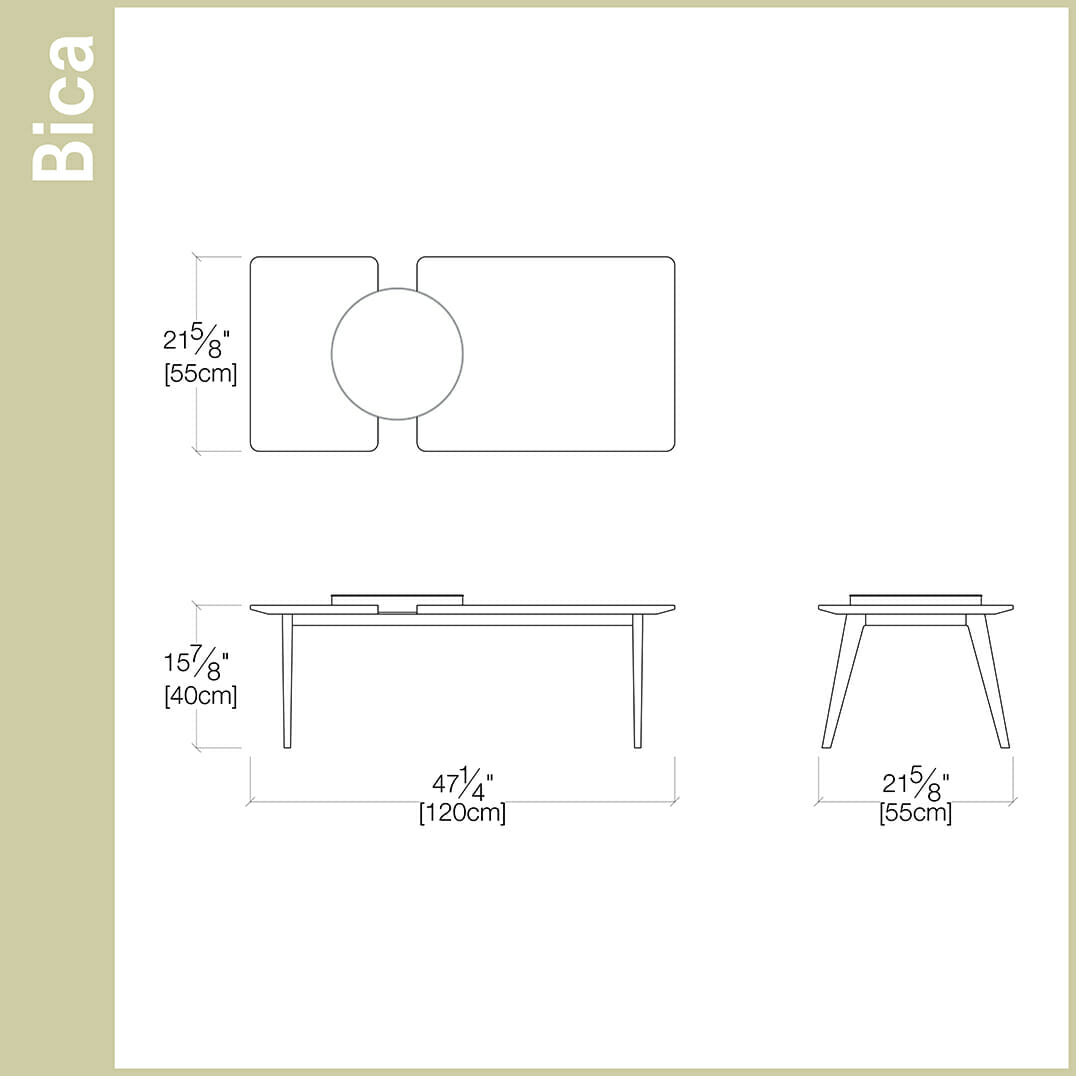 bica coffee table  living room  resource furniture