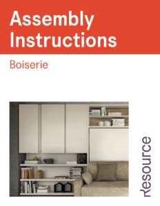 Boiserie Assembly Instructions