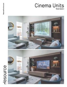 Cinema Units Tearsheet