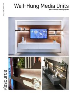 Wall-Mounted Media Units Tearsheet