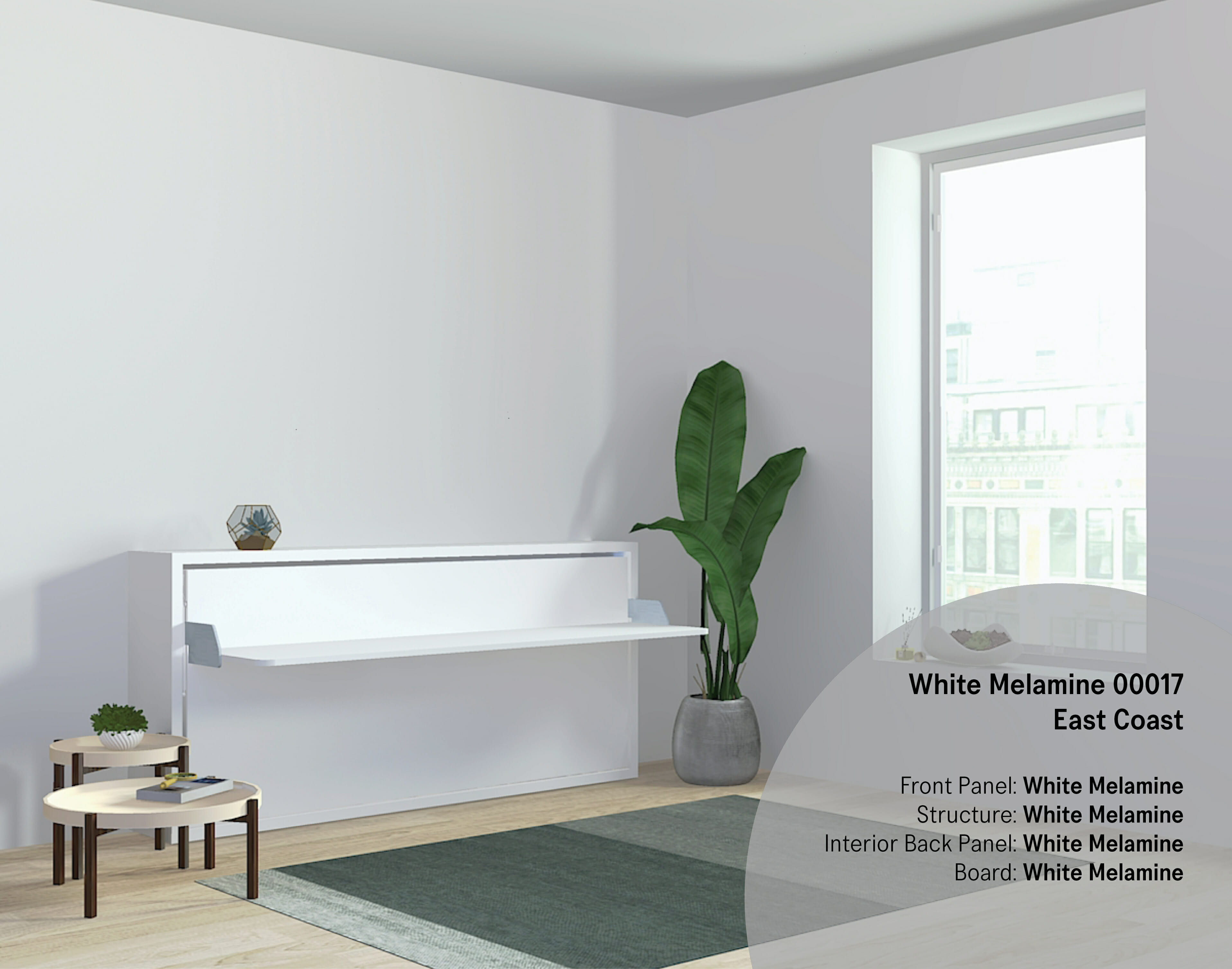 Quick Ship Kali | Transforming Single Wall Bed | Resource Furniture