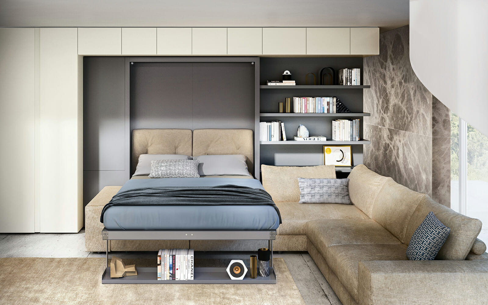 Design Bed Kopen.Resource Furniture Transforming Space Saving Furniture