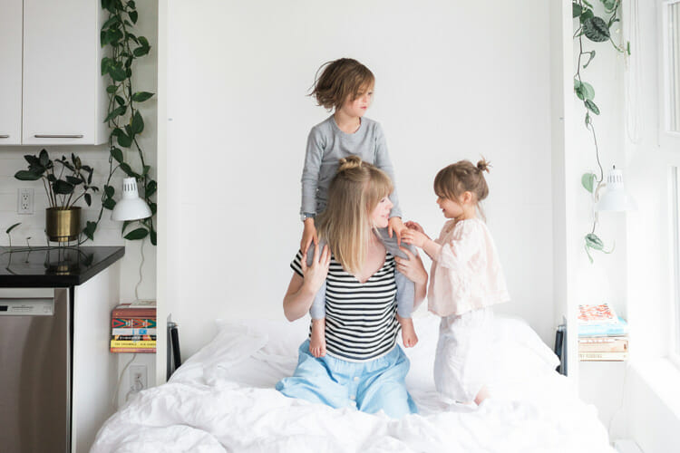 Living Small with Kids? Don't Upsize, Adapt.