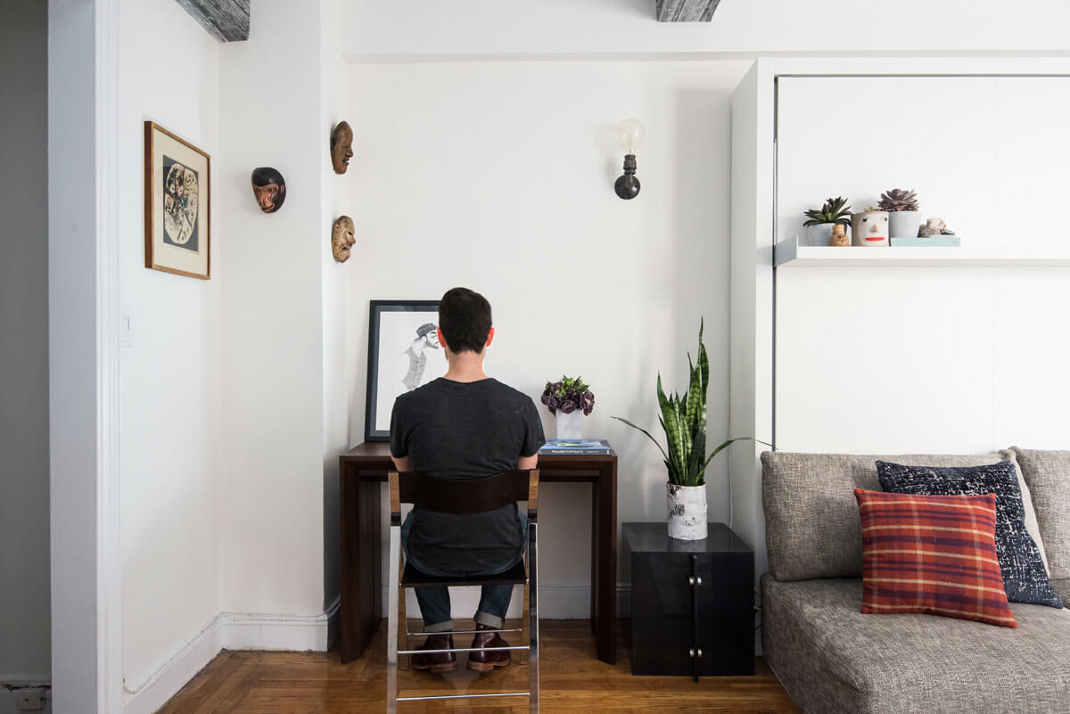 Big on Broadway, Small on Space: Inside the Studio of Actor Adam Kantor