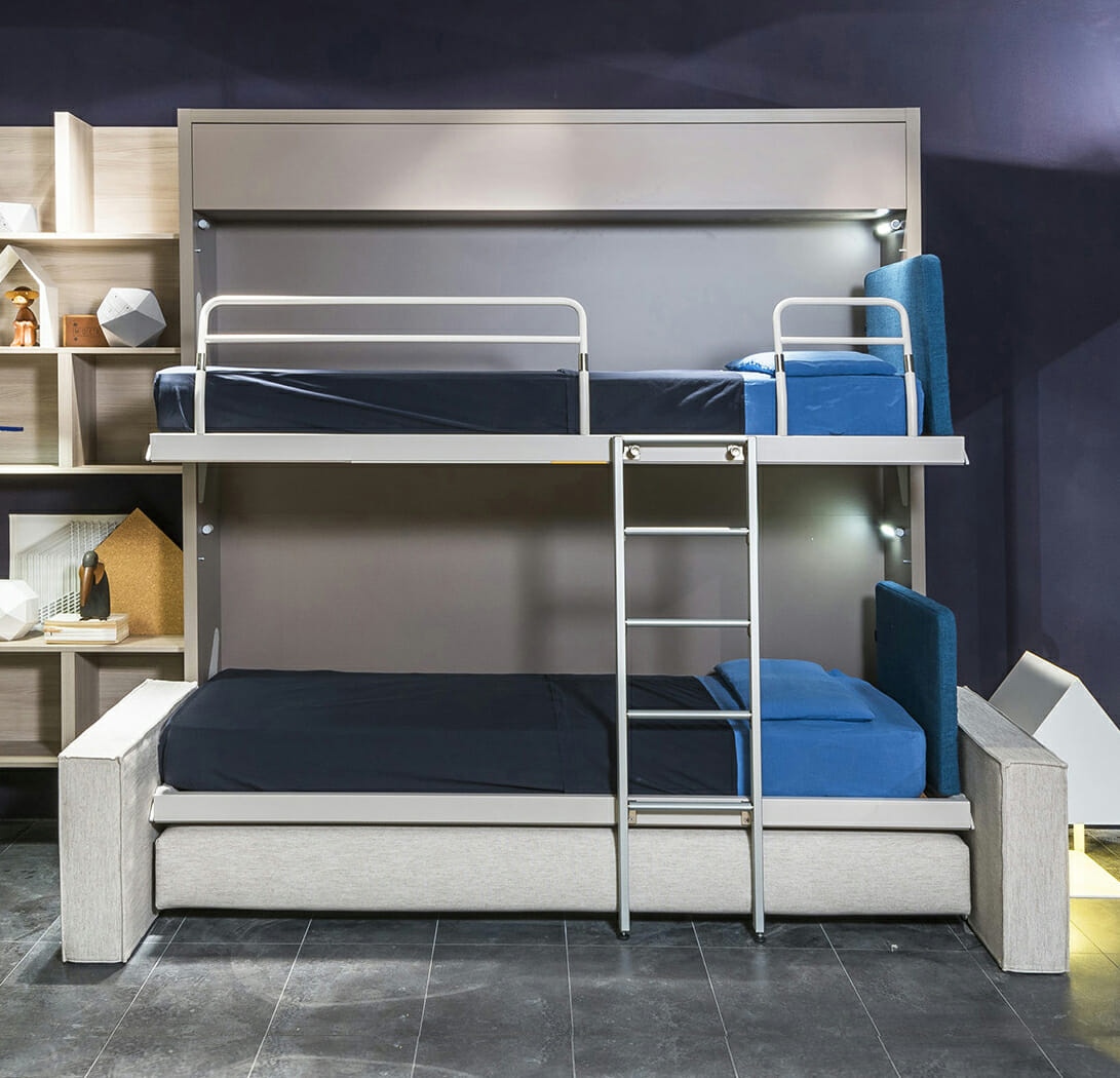 Outstanding Transforming Bunk Bed Sofa Kali Duo Resource Furniture Ocoug Best Dining Table And Chair Ideas Images Ocougorg