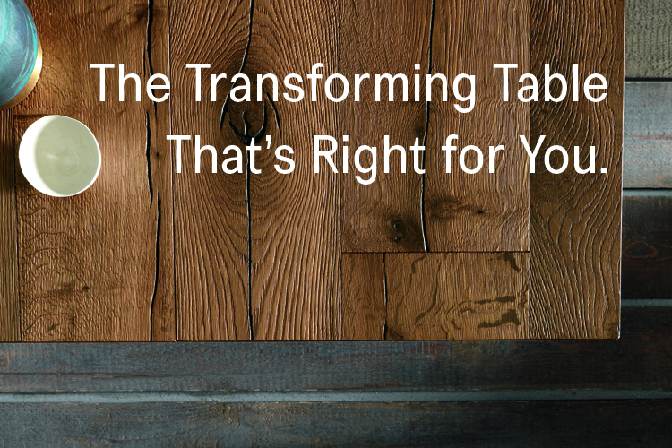 The Transforming Table For Your Profile