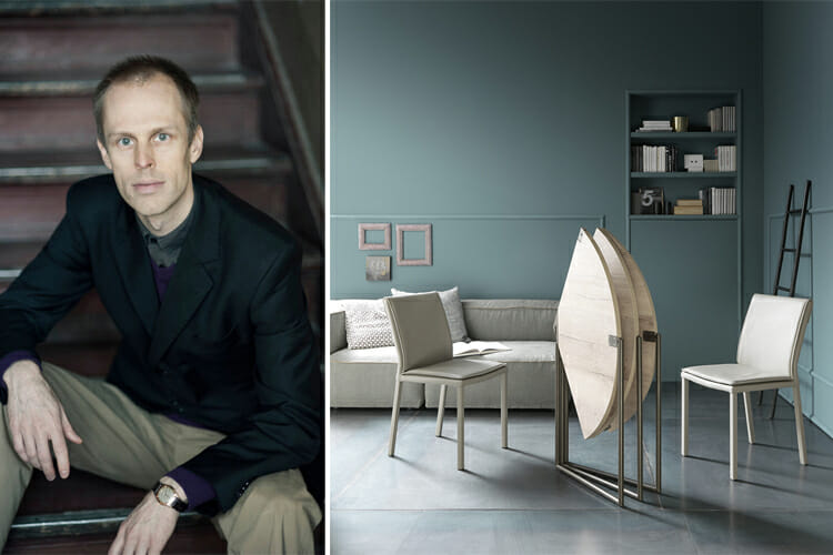 Q+A with Nils Frederking: Furniture Designer Behind the Icaro