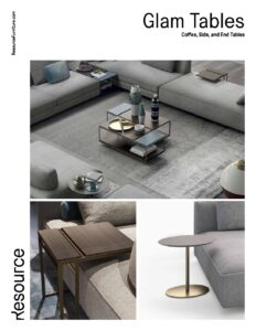 Glam Table Collection Tearsheet