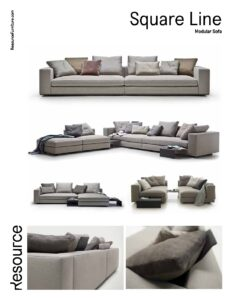 Square Line Sofa Tearsheet