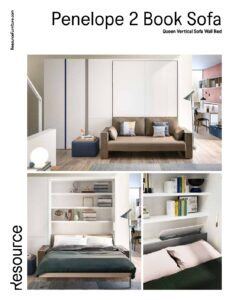 Penelope 2 Book Sofa Tearsheet