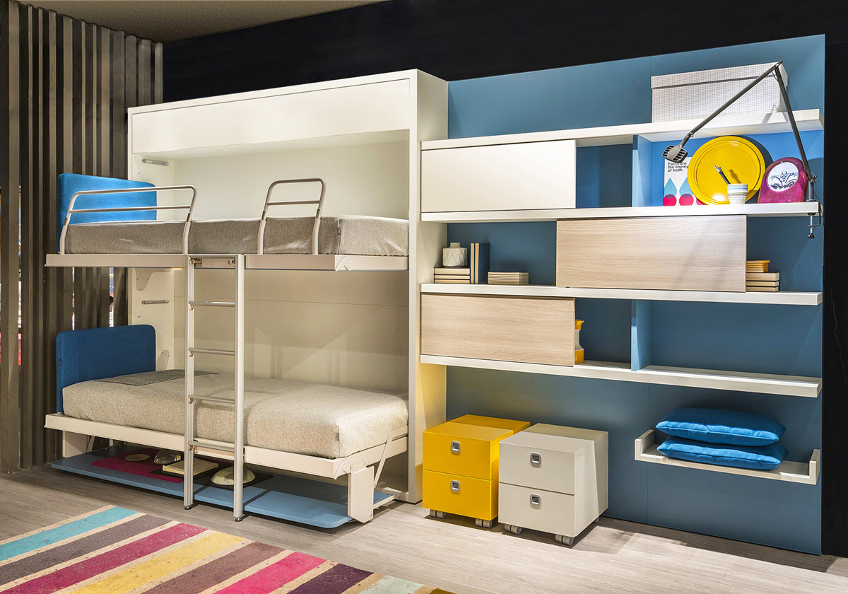 Bunk Bed Systems Make Room For Growing Kids