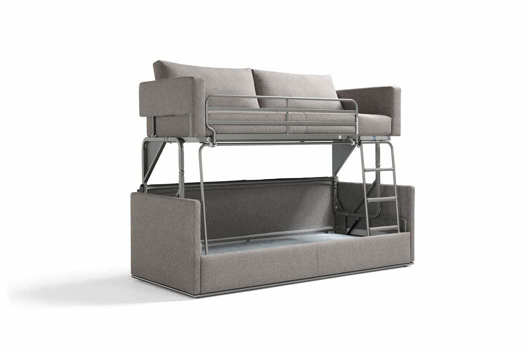 Tremendous Gemini Transforming Sofa Bunk Bed Resource Furniture Pdpeps Interior Chair Design Pdpepsorg