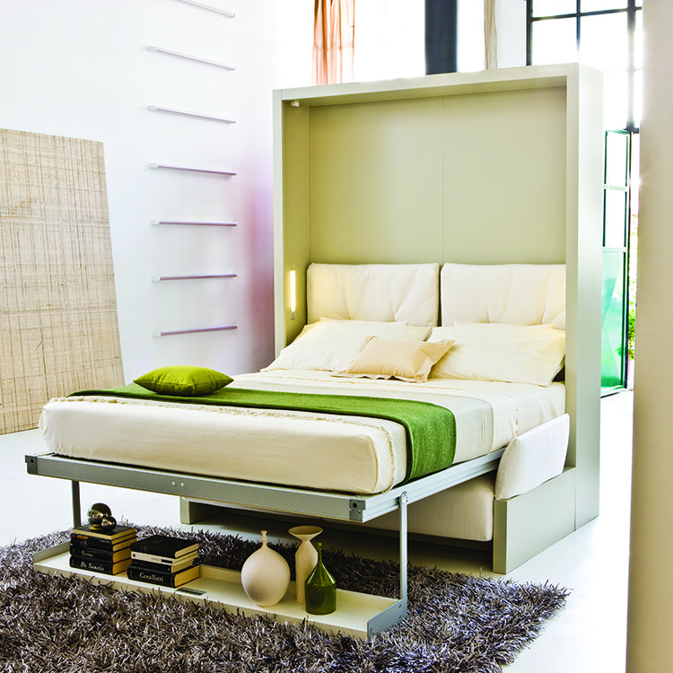 Nuovoliola Wall Bed for Bryan Cranston's Eco Friendly Home