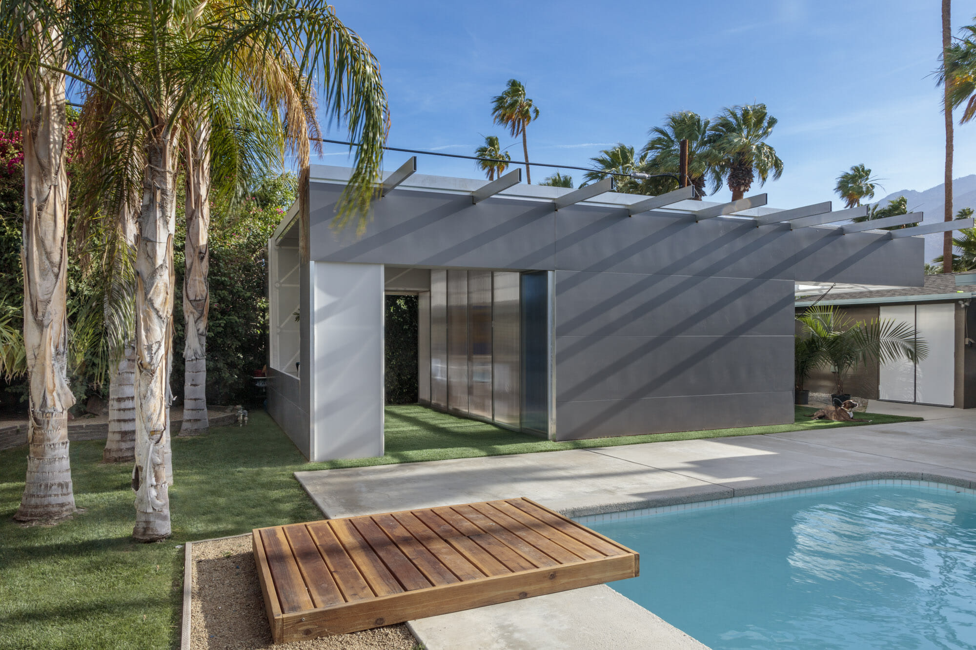 An Oasys ADU by Stereobot, located in Palm Springs. A similar Oasys ADU will debut at the 2019 Los Angeles Design Festival, June 20-23.
