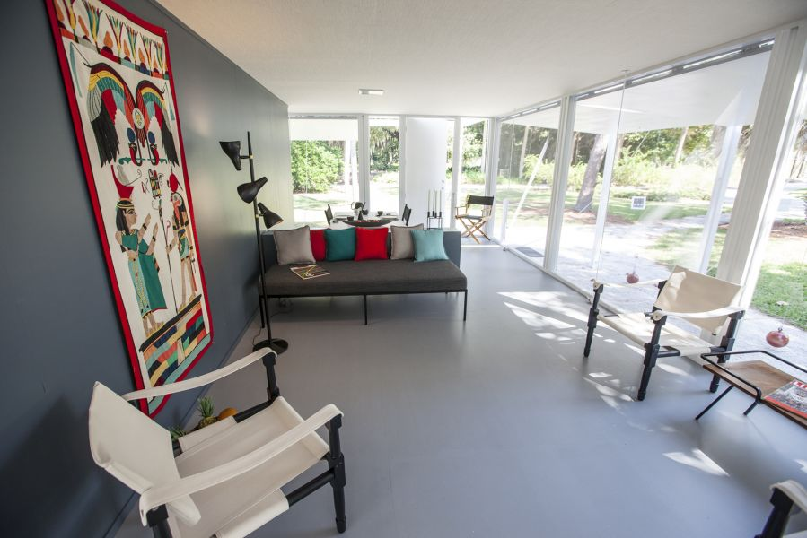 From inside an exhibition home tour