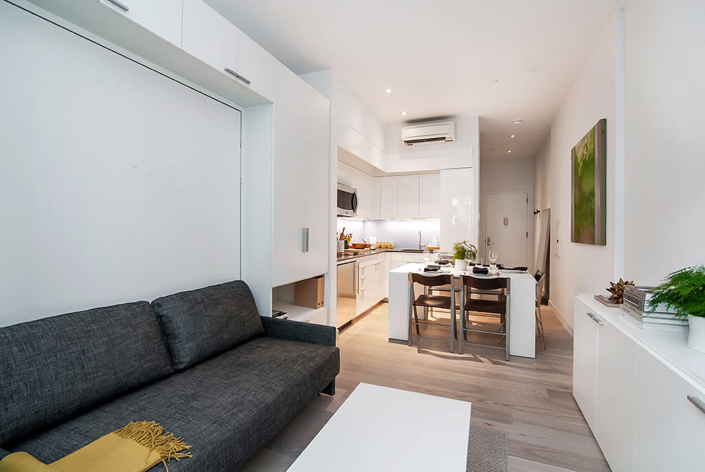 Micro-Apartments at Carmel Place, NYC | Resource Furniture