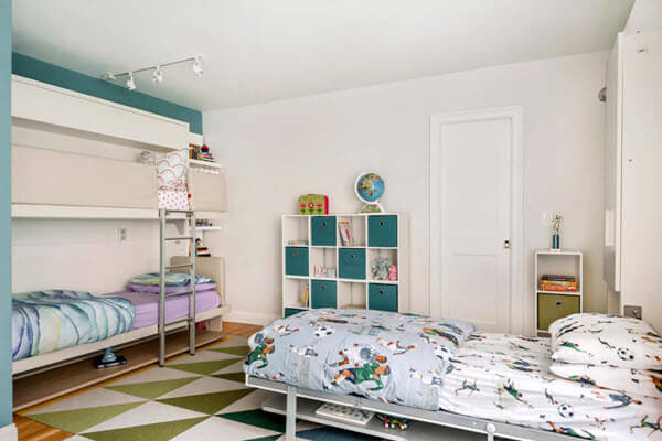 How To Fit Three Kids in 170 Square Feet