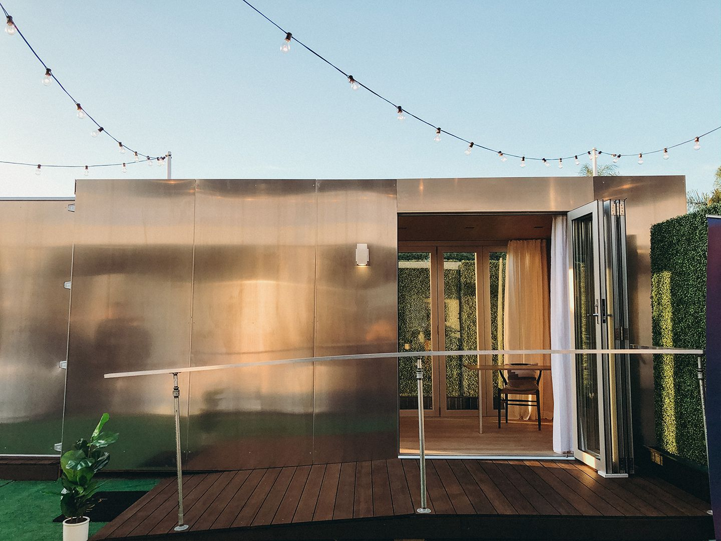 Buhaus: The Luxe Prefab Container Home That's Transforming Temporary Housing