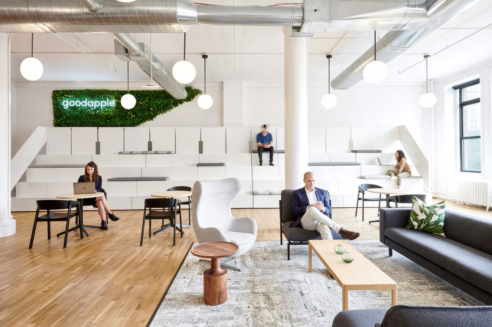 Good Apple's 14,500-square-foot Union Square office by Knotel.
