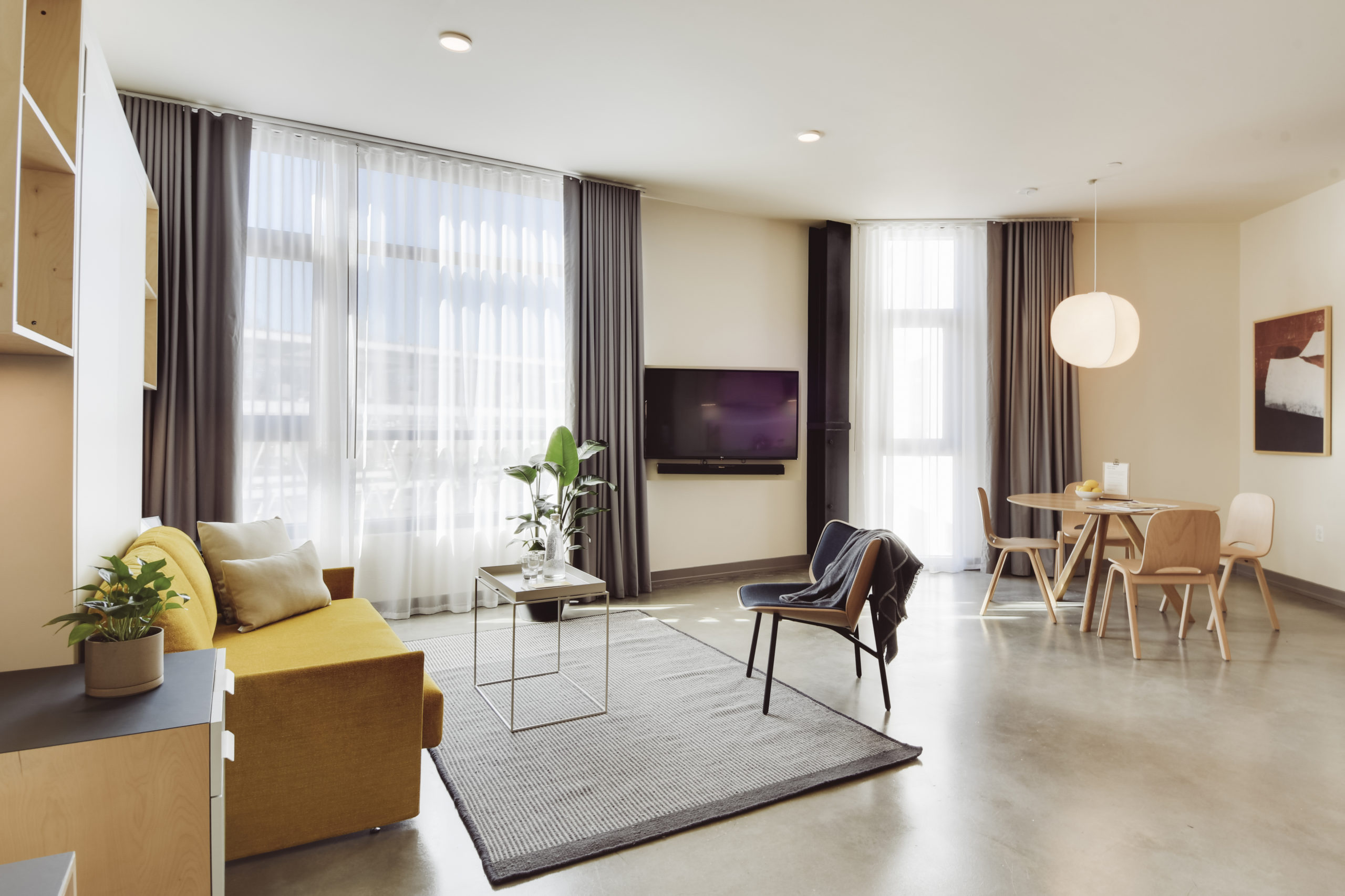 Flexible Interiors Define Guest Experience at BentoLiving