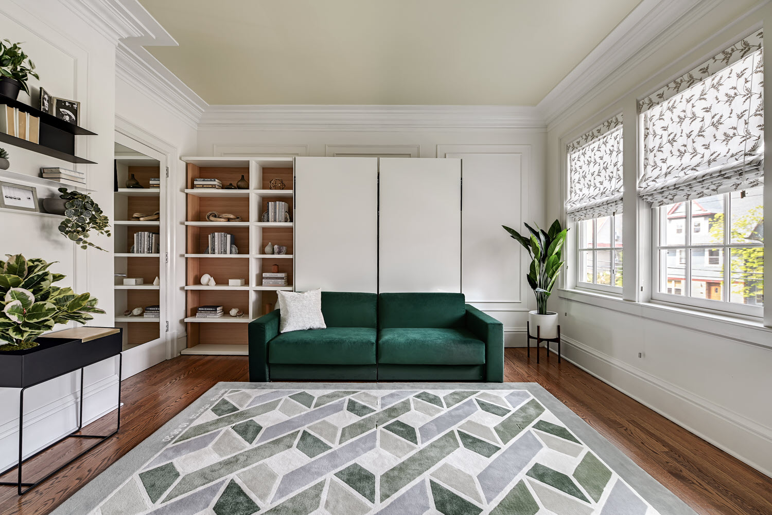 The Ella & Louis from Resource converts into two twin beds — or one oversized queen bed.