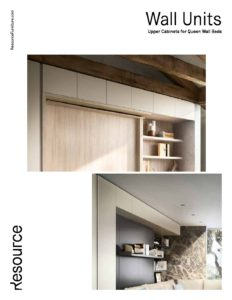 Upper Cabinets for Queens Wall Beds Tearsheet